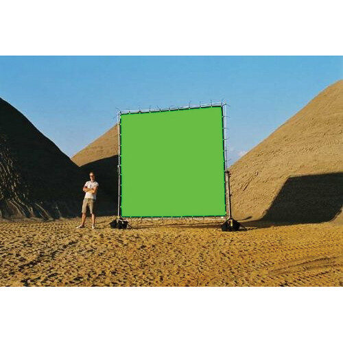 Large green screen to rent in Algarve, Portugal