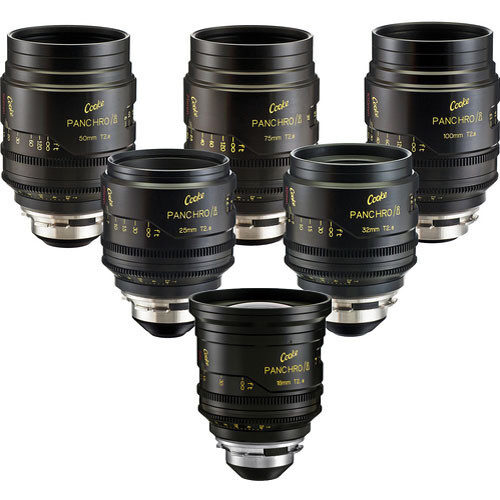 Cooke Cine Lenses for rent in Algarve for film production in Portugal and Spain
