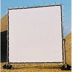 Big 12x12 ft or 4x4 mt white, black, green, gold zebra reflectors and sun scrim to rent in Algarve, Portugal