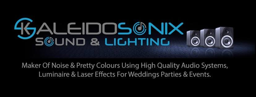 Kaleidosonix - Sound & Lighting systems for weddings parties & events