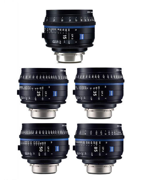 Cooke and Zeiss CP.3  Cine Lenses for rent in Algarve for film production in Portugal and Spain