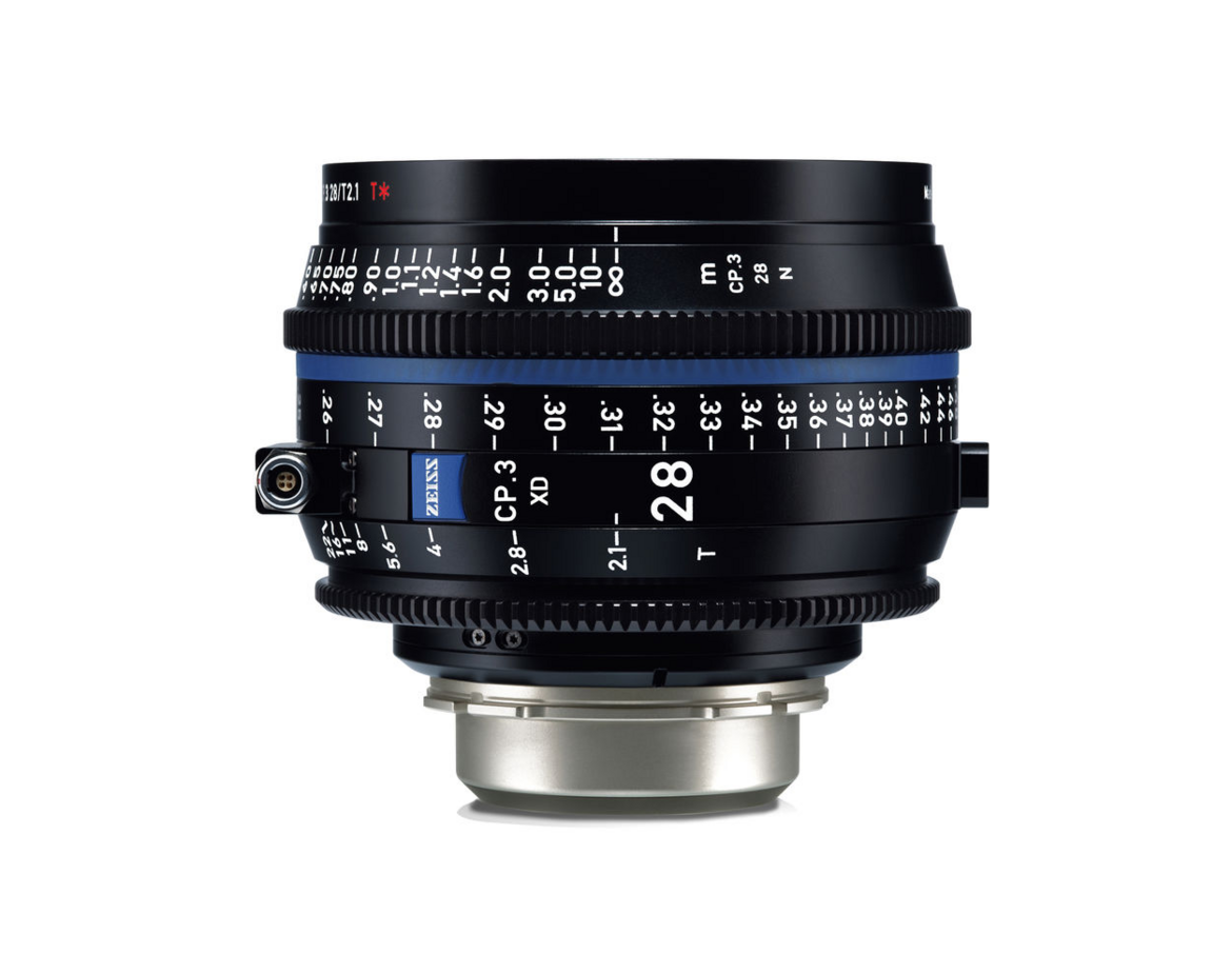 Zeiss CP.3 Prime Cinema Lenses to rent in Algarve, Portugal, Andalusia, Spain