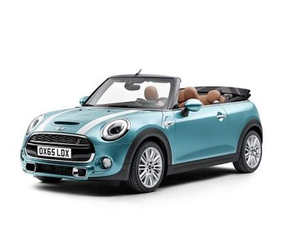 Mini cabriolet to rent in Algarve, Portugal, for film productions